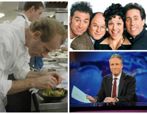 Netflix (Chef's Table) and Hulu (The Daily Show + The Complete Seinfeld)<br />