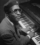 Thelonious Monk<br />photo credit: Wikipedia
