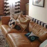My couch<br />photo credit: Tiffany Rolfe