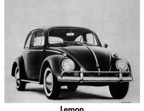 "Volkswagen - ""Lemon""<br />photo credit: ihaveanidea.org"
