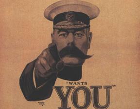 Lord Kitchener Wants You<br />photo credit: Wikipedia