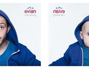 "Evian - ""Baby and Me""<br />photo credit: theinspirationroom.com"