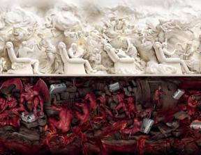 "Samsonite - ""Heaven and Hell""<br />photo credit: theinspirationroom.com"