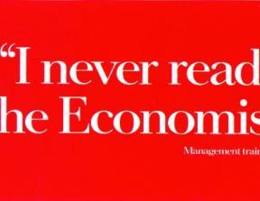 "The Economist - ""Management Trainee""<br />photo credit: adsoftheworld.com"