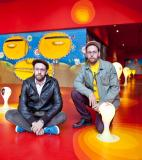 "Otavio and Gustavo Pandolfo (""The Twins"")<br />photo credit: soundcolourvibration.com"