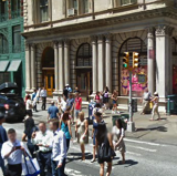 Broadway & Prince St., New York City<br />