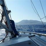 Sailing in the Ionian Sea, Greece<br />photo credit: Nicholas Crane
